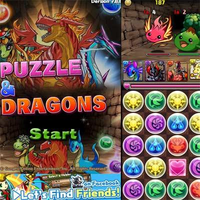 Juego Puzzle & Dragons