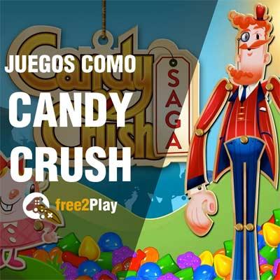 Mejores Juegos estilo Candy Crush