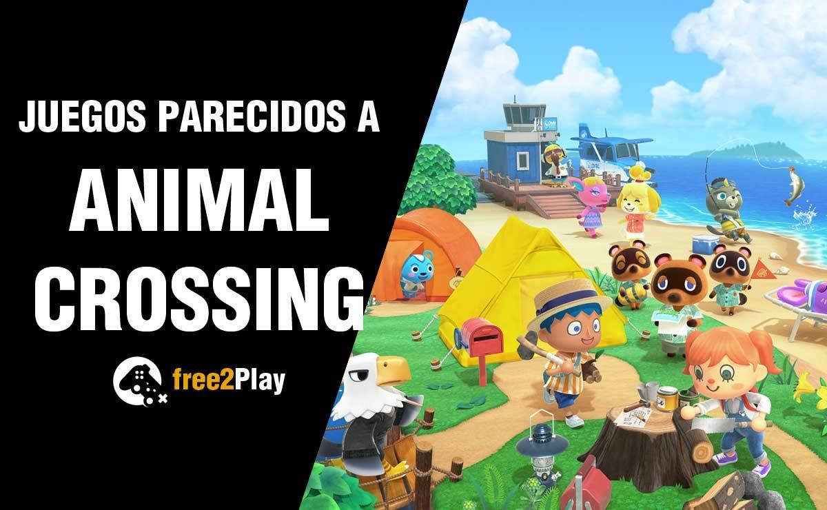 Mejores Juegos Parecidos a Animal Crossing