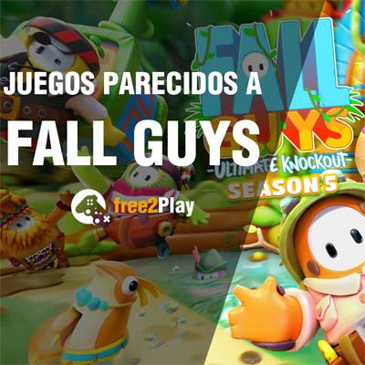 Juegos tipo Fall Guys