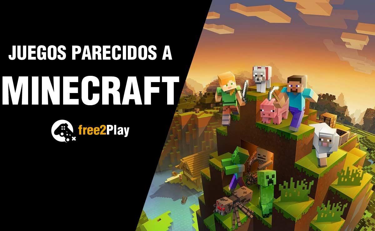 Mejores Juegos Como el Minecraft